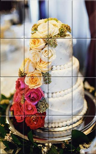 Tile Puzzle Wedding Cake apkpoly screenshots 6