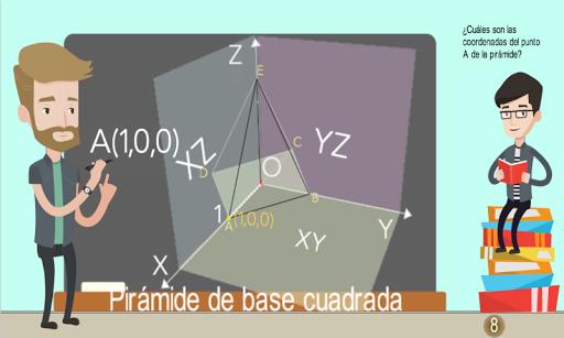 Coordenadas 3D Piru00e1mides 1.0.0 screenshots 7