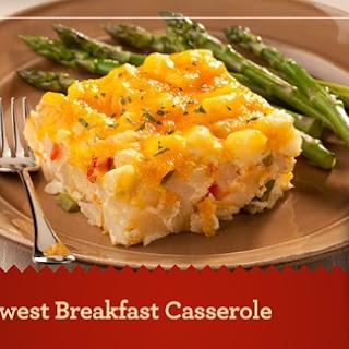 Southwest Breakfast Casserole.