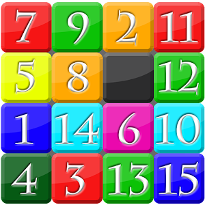 Fifteen puzzle for PC and MAC