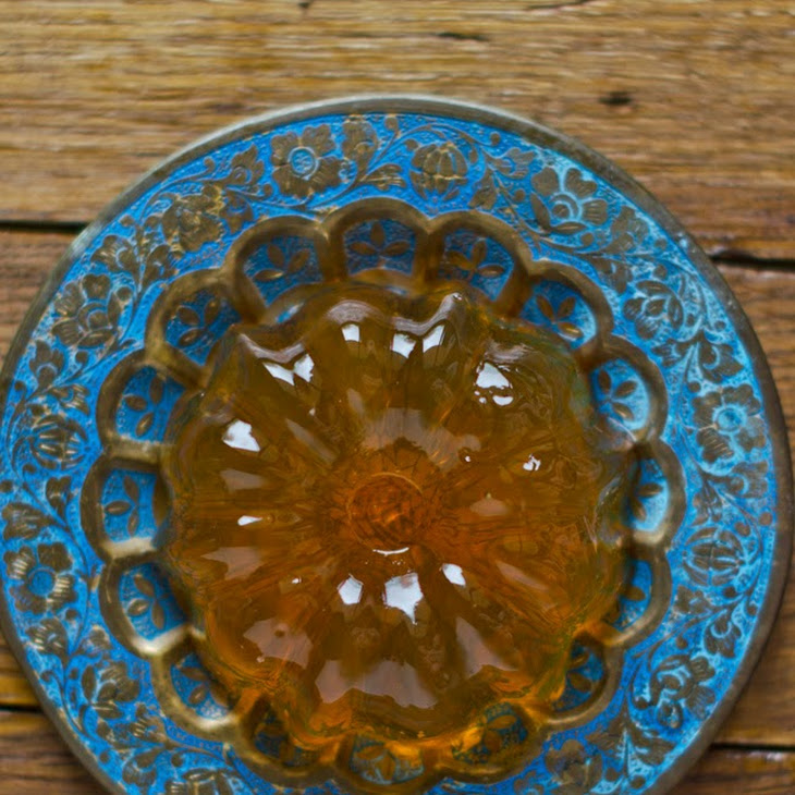 Jasmine Tea And Chestnut Honey Gelatin