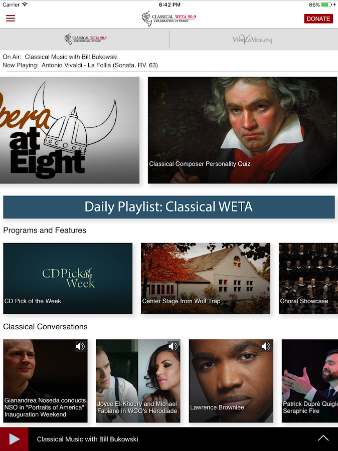 Classical WETA- screenshot