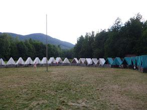 Photo: Tak to je naše tábořiště