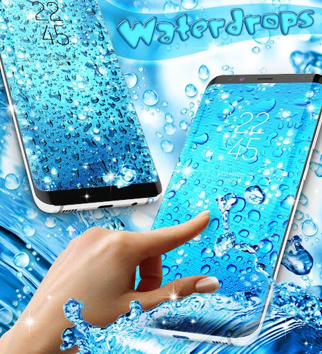 Water drops live wallpaper 8.8 screenshots 2