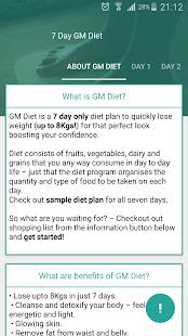Gm Diet Weight Loss 7 Days Screenshot Thumbnail