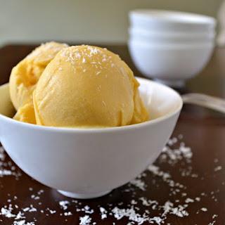 Mango Sorbet.