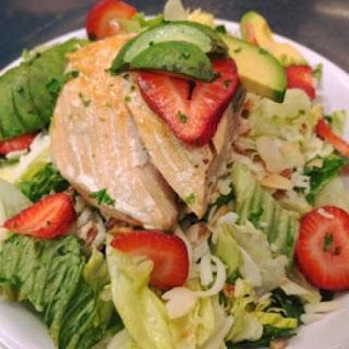 Fresh Salmon Salad.