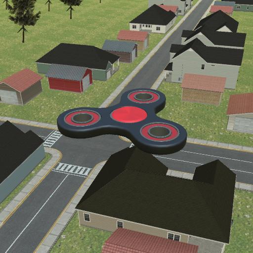 Flying Fidget Spinner Training