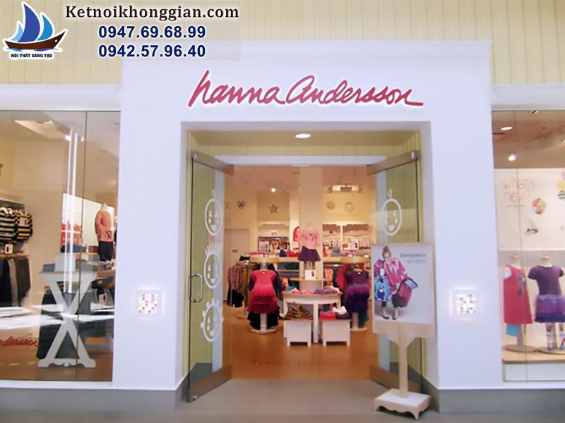 giải pháp cho cửa hàng quần áo trẻ em nhỏ