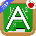 Alphabet & Numbers - English Handwriting Game -ZBP icon