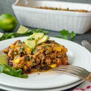 Mexican Turkey Tortilla Casserole Recipe