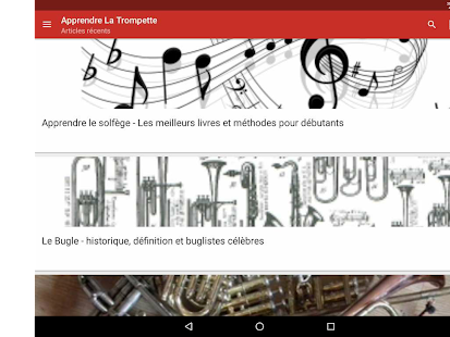 Apprendre la Trompette- screenshot thumbnail