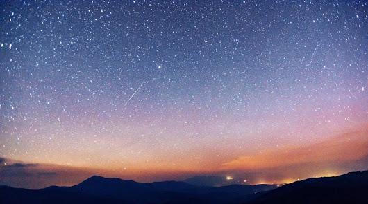 Dos bolas de fuego iluminan el cielo del Calar Alto