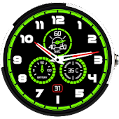 Glow Meter Watch Face Free