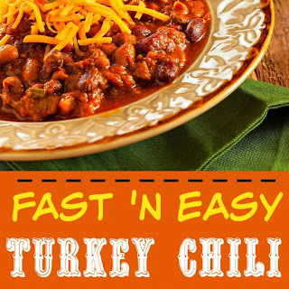 Fast 'N Easy Turkey Chili
