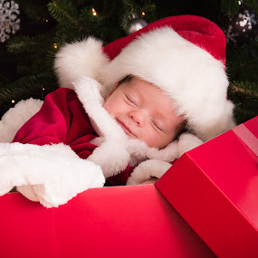 Greatest Gift by Mike DeMicco - Public Holidays Christmas ( babies, present, tree, pwcholidays, santa, xmas, christmas, contest, adorable, baby, cute )