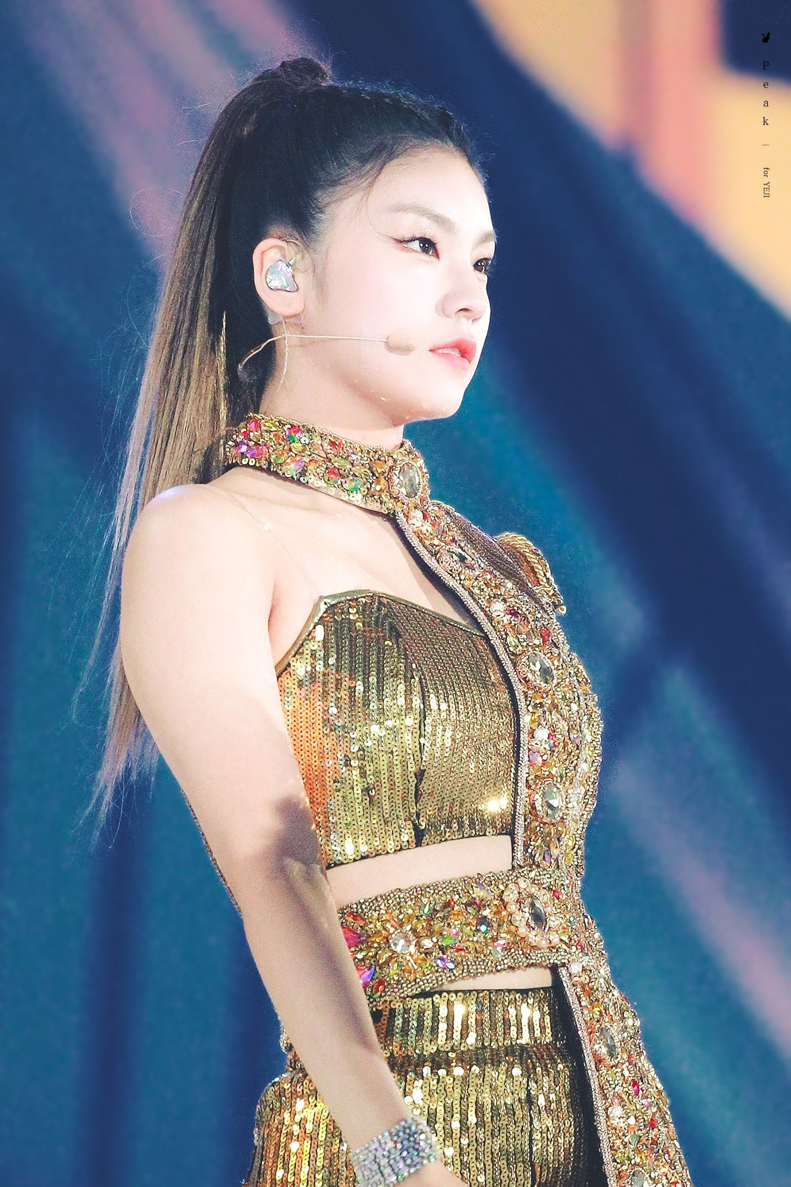 itzy yeji hair5