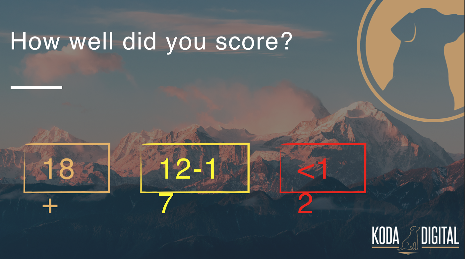 How well did you score in this digital marketing assessment? Is your medical practice's marketing up to par?