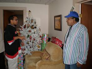 Photo: kalonji and his uncle tony