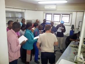 Photo: Farmers/staff training