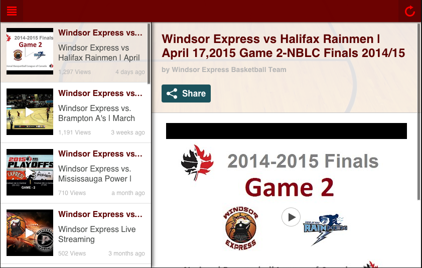 Windsor Express- screenshot
