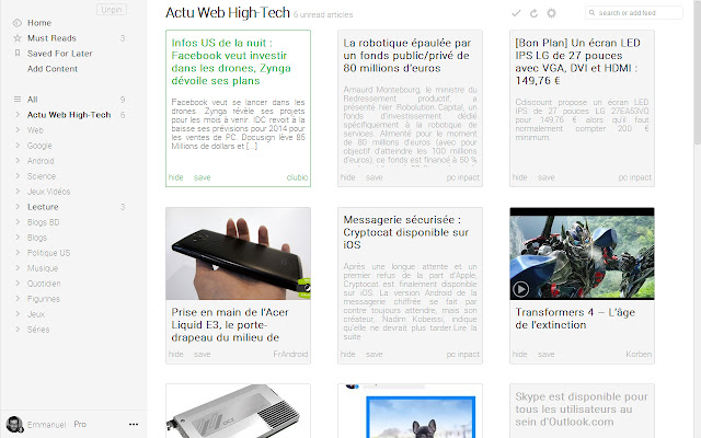 feedly+