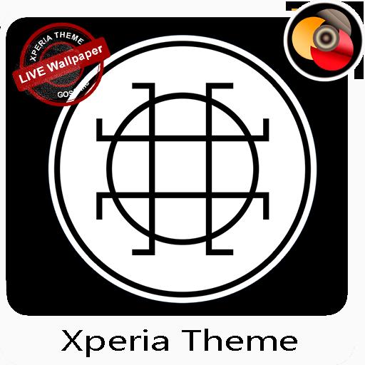 White & Black | Xperia™ Theme