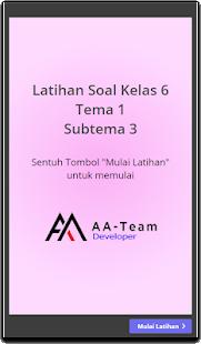 SOAL KELAS 6 TEMA 1 - náhled