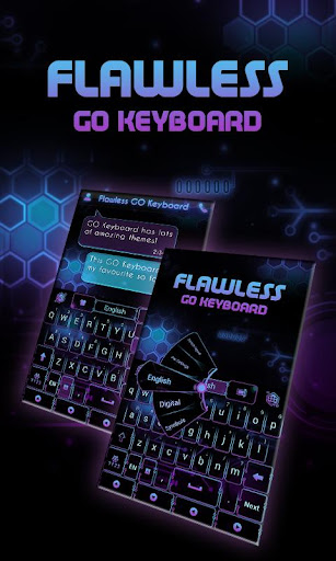 Flawless GO Keyboard Theme