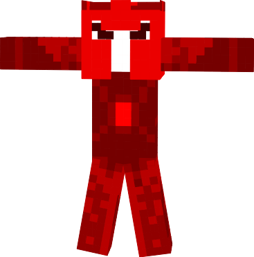 the soul of red crystal on the right gauntlet of popularmmos skin DragonHunterBG edition
