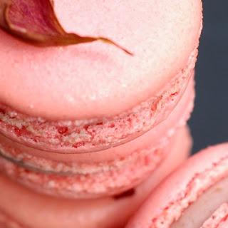 Raspberry Rose Macarons...