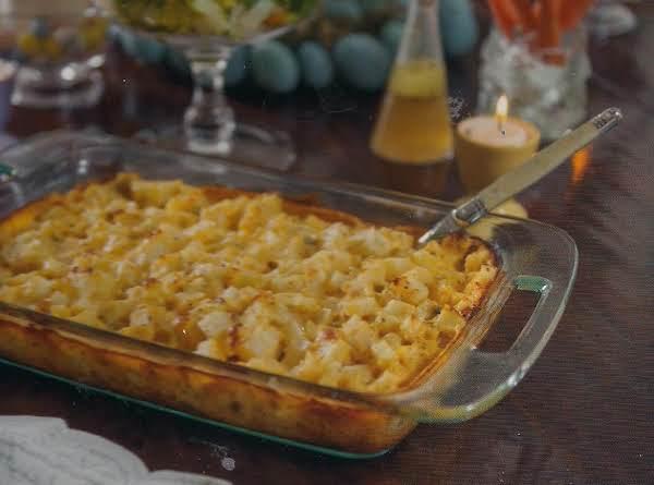 Cheddar Garlic Potatoes