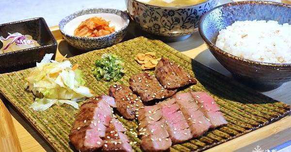 吉村牛舌~不用飛日本,台灣也有日式烤牛舌定食