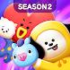 LINE ハローBT21~SEASON2~簡単爽快かわいいバブルシューティングでポップなタウンづくり - Androidアプリ