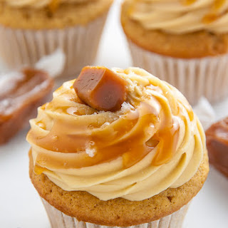 Ultimate Salted Caramel Cupcakes.