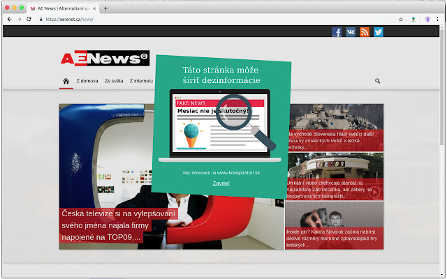 Fake News Website Detector