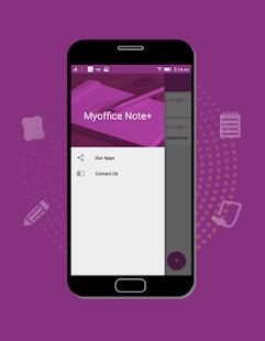 Myoffice Note+ - náhled
