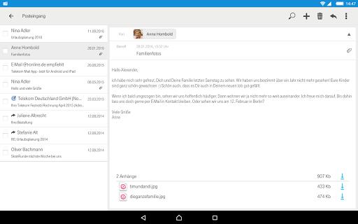 Telekom Mail screenshot 9