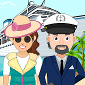Pretend Play Cruise Trip: Town Fun Vacation Life Android APK Download Free By Mini Gamers Club