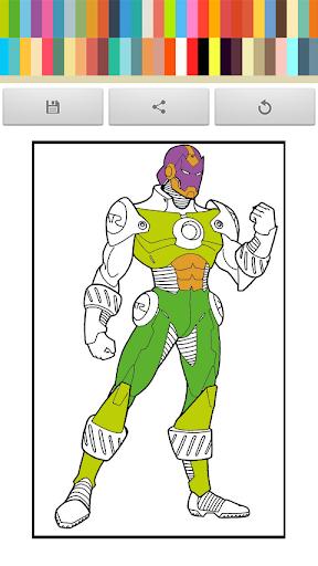 Iron Coloring Book Man FREE