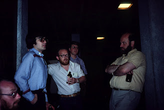 Photo: Gavin Eadie, Alan Ballard, Ron Kerr, Brian Eliot, Denis Russell