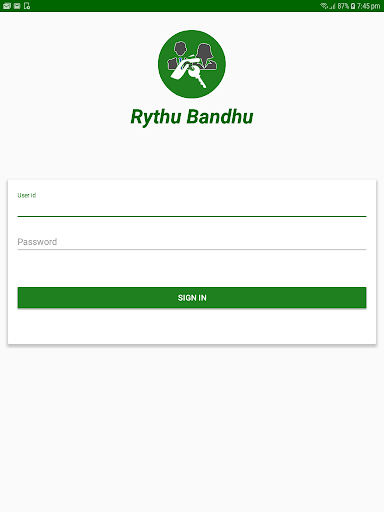 Rythu Bandhu, Telangana State. screenshots 3