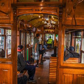 Street Trolley by Joe Machuta - Transportation Other