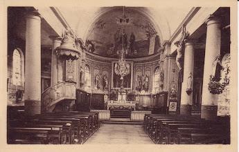 Photo: Intérieur de l'église
