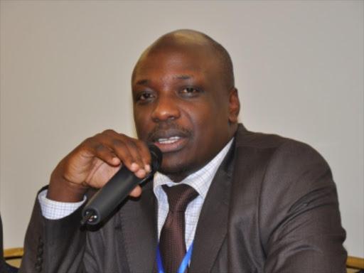 Former Law Society of Kenya CEO Apollo Mboya.