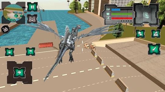 Flying Dragon Robot Simulator :Transformation War 3