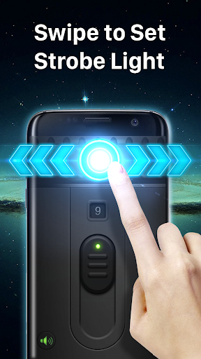 Super-Bright LED Flashlight - screenshot