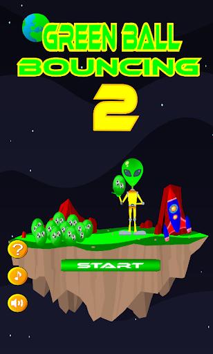 Green Ball Bouncing 2