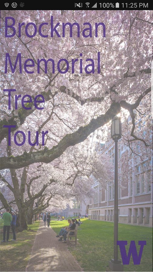 Brockman Memorial Tree Tour- screenshot