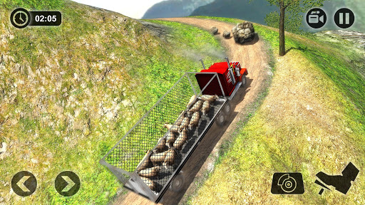 Offroad Farm Animal Truck Driving Game 2018 1.2 screenshots 7